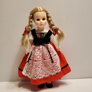 Vtg Effanbee story book collection doll Heidi